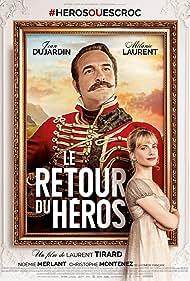 Jean Dujardin and Mélanie Laurent in Le retour du héros (2018)
