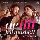 Aishwarya Rai Bachchan, Ranbir Kapoor, and Anushka Sharma in Ae Dil Hai Mushkil (2016)