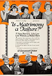 Is Matrimony a Failure? Poster