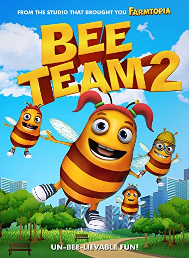 Poster of Bee Team 2 2019 Full Hindi Dubbed Movie Download HDRip 480p
