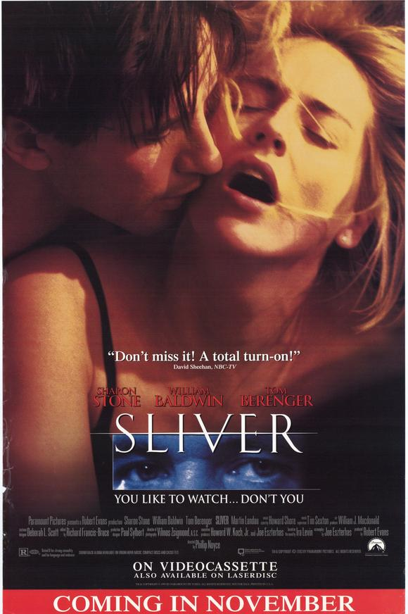 sliver full movies video