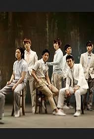 Si Won Choi, Geng Han, Hyuk-jae Lee, Ki-bum Kim, Young-woon Kim, Hee-chul Kim, Dong-hae Lee, Ryeo-wook Kim, Leeteuk, Jong-woon Kim, Dong-hee Shin, Sung-min Lee, Super Junior, and Kyu-hyun Cho in Super Junior: It's You (2009)