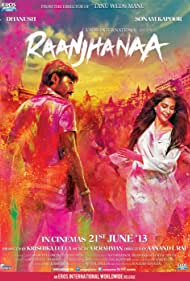 Dhanush and Sonam Kapoor in Raanjhanaa (2013)