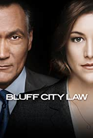 Jimmy Smits and Caitlin McGee in Bluff City Law (2019)