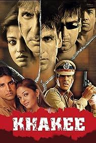 Amitabh Bachchan, Ajay Devgn, Akshay Kumar, Aishwarya Rai Bachchan, and Tusshar Kapoor in Khakee (2004)