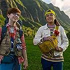 Owen Vaccaro and Kea Peahu in Finding 'Ohana (2021)