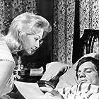 Jean-Paul Belmondo and Christine Kaufmann in Un nommé La Rocca (1961)
