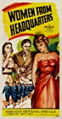 Women from Headquarters (1950) Poster