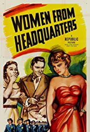 Women from Headquarters Poster