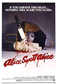 Alice, Sweet Alice Poster