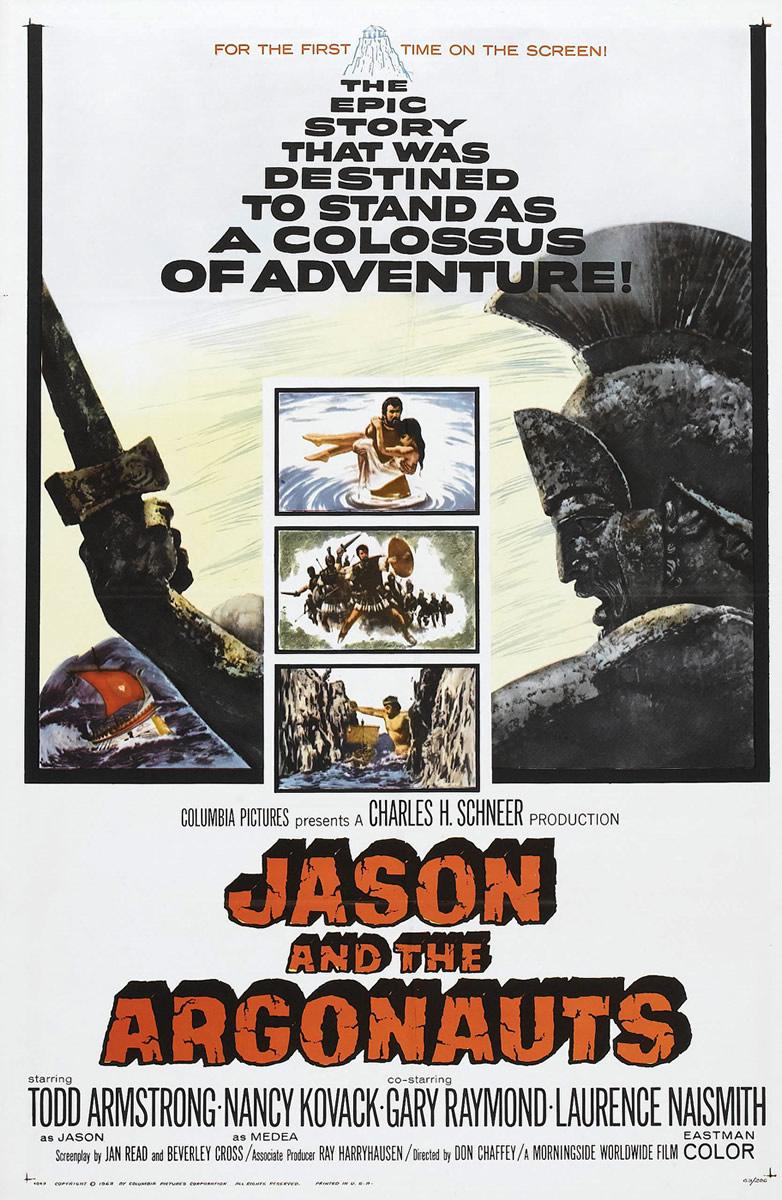 Jasão e o Velo de Ouro / Jasão e o Argonautas [Dub] – IMDB 7.4