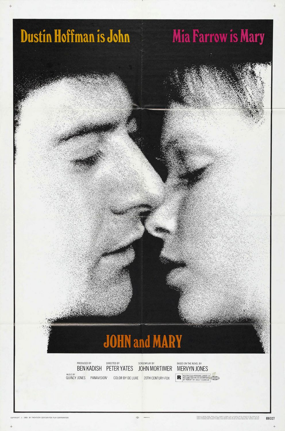 Image result for john and mary 1969