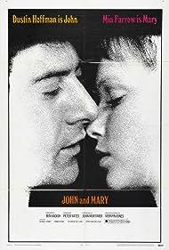 Dustin Hoffman and Mia Farrow in John and Mary (1969)