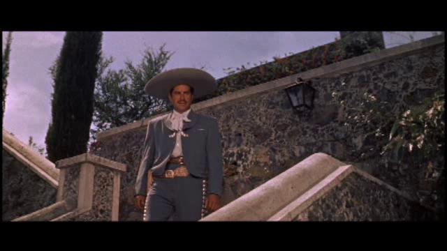Eduardo Noriega in The Beast of Hollow Mountain (1956)