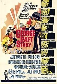 Neville Brand, Barrie Chase, Ray Danton, Brad Dexter, Frank Gorshin, Julie London, Jayne Mansfield, Margo Moore, and Barbara Nichols in The George Raft Story (1961)