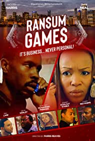 Elise Neal, Wood Harris, Eric Lane, Tommy Phipps, Devin Wesley, Johnny 'Koolout' Starks, and Khadijah Freeman in Ransum Games (2021)