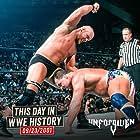 Kurt Angle and Steve Austin in WWF Unforgiven (2001)