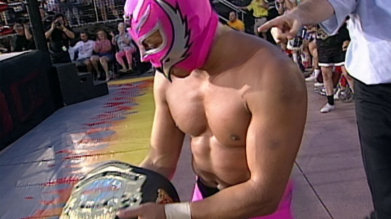 Rey Mysterio in WCW Monday Nitro (1995)