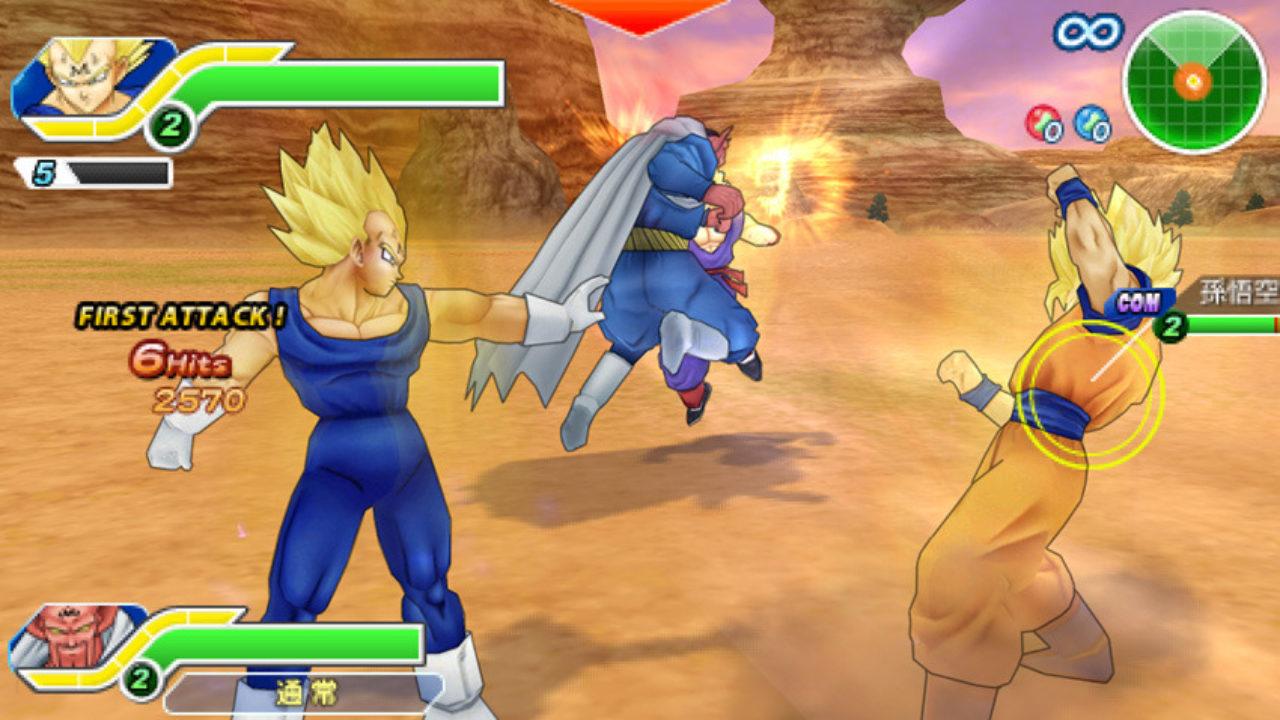 Dragon Ball Z Tenkaichi Tag Team 2010