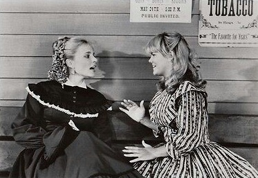Priscilla Barnes and Lisa Whelchel in The Wild Women of Chastity Gulch (1982)