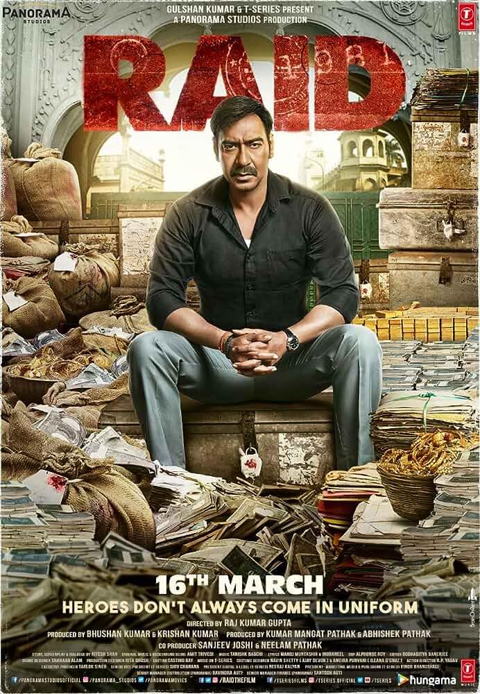 Raid | 2018 | Hindi | 1080p | 720p | WEB-DL