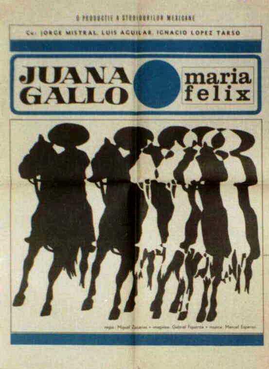 Gabriel Figueroa, René Cardona, María Félix, Rita Macedo, Ignacio López Tarso, Jorge Mistral, and Noé Murayama in Juana Gallo (1961)