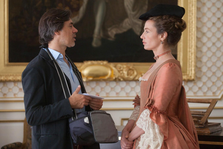 Cécile de France and Emmanuel Mouret in Mademoiselle de Joncquières (2018)