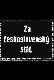 Za ceskoslovenský stát Poster