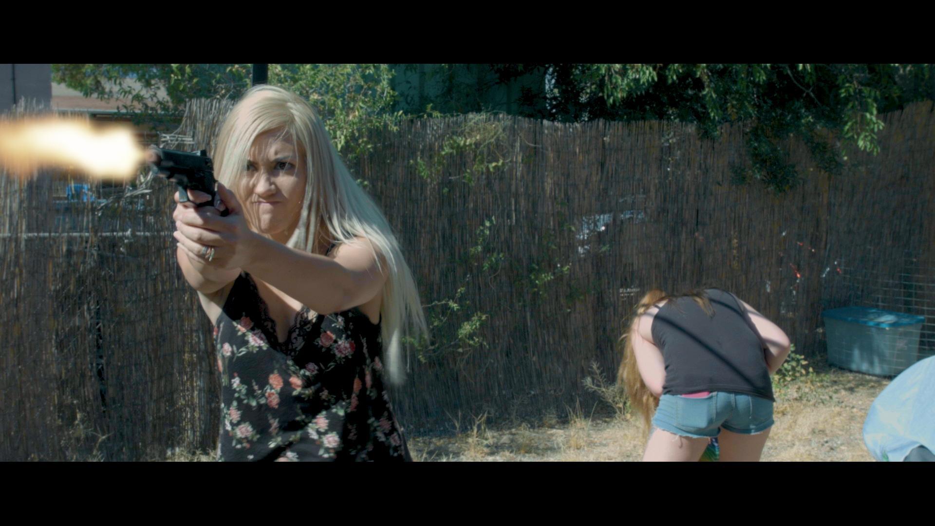 Sandra E Williams, Krissy Kapp, and Rihana Jordin Crowl in Garcia 2: The Rebirth (2020)