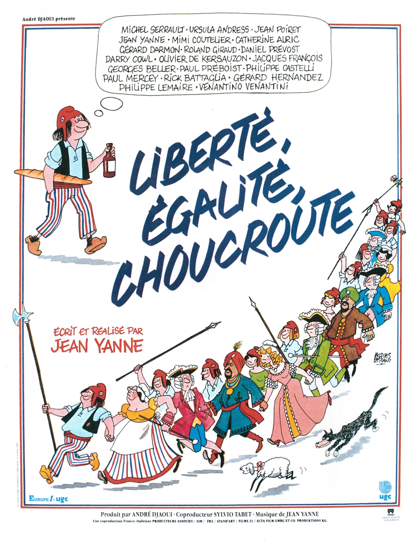 liberté égalité choucroute