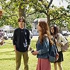 Jared Padalecki, Gabriela Flores, Violet Brinson, and Kale Culley in Walker (2021)