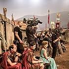 "Shooting ""Justo antes de Cristo"". Movistar TV. La Terraza Films."