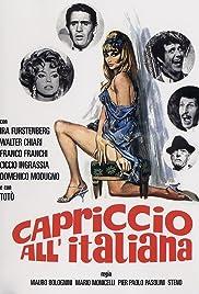 Capriccio all'italiana(1968) Poster - Movie Forum, Cast, Reviews