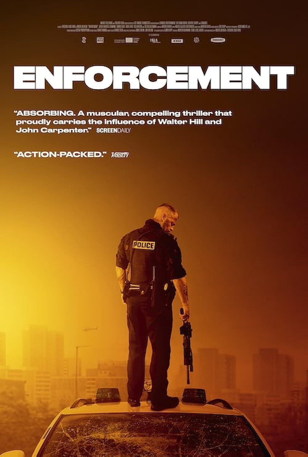 Enforcement 2021 English 720p HDRip 800MB | 350MB Download