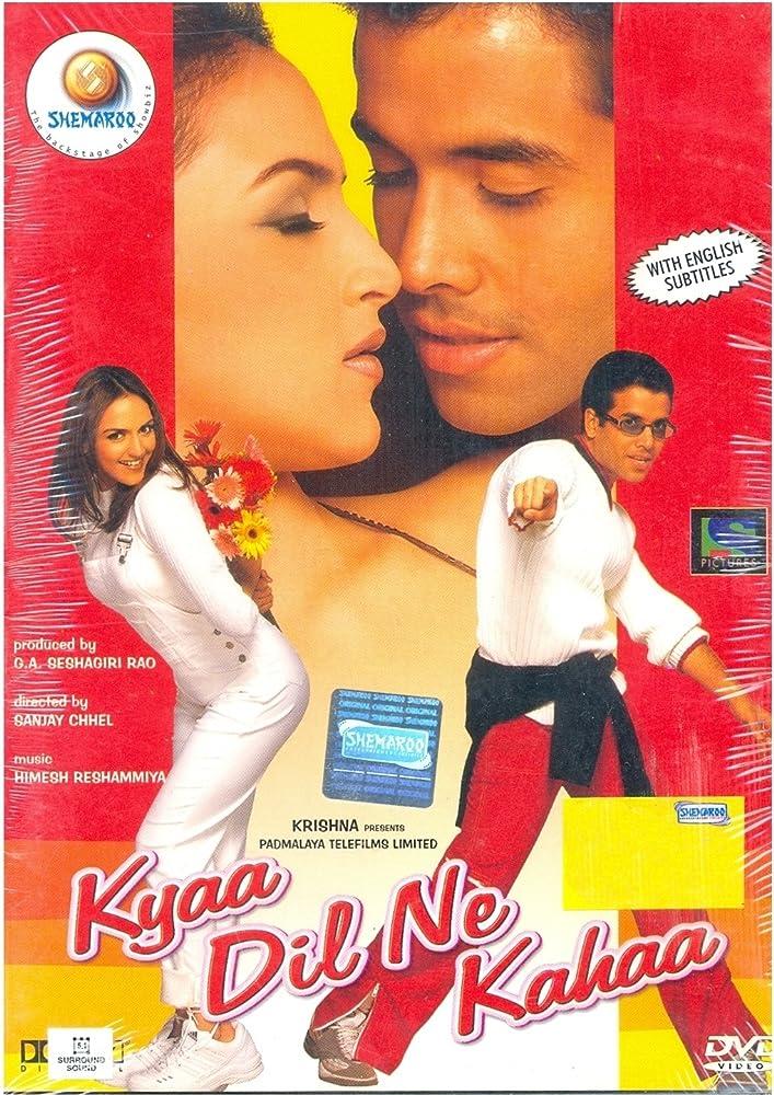 Kyaa Dil Ne Kahaa 2002 Hindi 720p HDRip 980MB Download