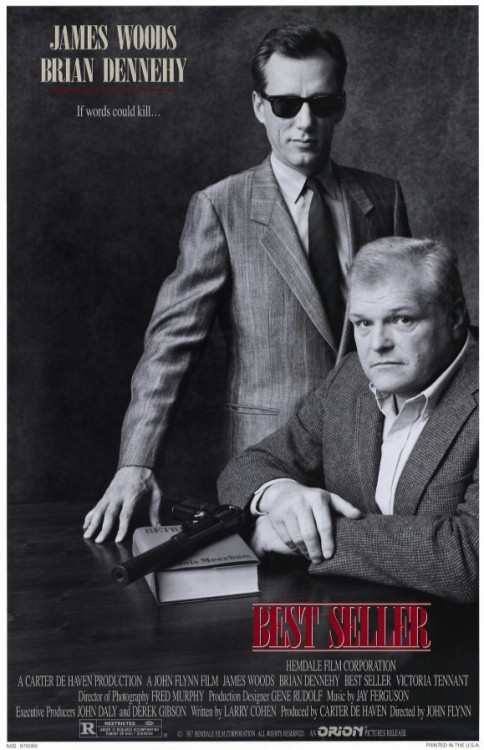 James Woods and Brian Dennehy in Best Seller (1987)