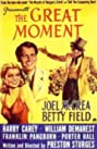 The Great Moment (1944) Poster