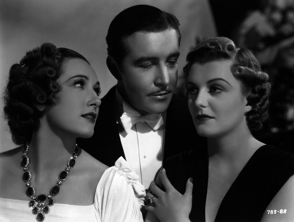 Tala Birell, John Boles, and Doris Nolan in As Good as Married (1937)