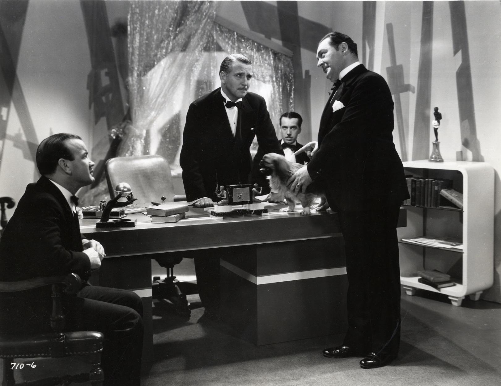 Edward Arnold, Robert Gleckler, and Bradley Page in Million Dollar Ransom (1934)