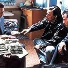 Ugo Conti, Fabrizio Gifuni, and Adriano Pappalardo in Qui non è il paradiso (2000)