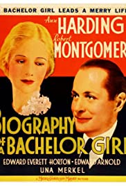 Biography of a Bachelor Girl Poster
