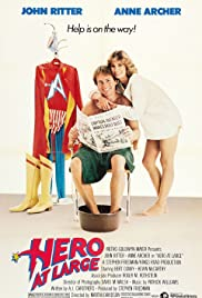Hero at Large Poster