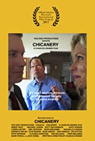 Brent Huff, Loren Lester, and Kate Vernon in Chicanery (2017)