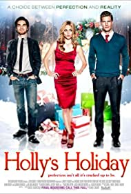 Ryan McPartlin, Claire Coffee, and Jeff Ward in Holly's Holiday (2012)