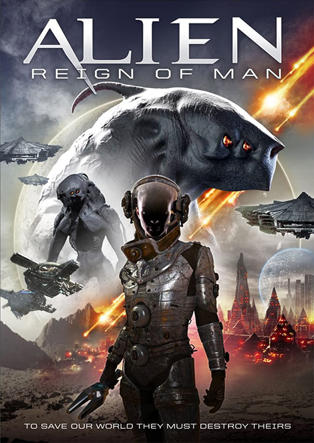 Download Alien Reign of Man 2017 Hindi Dual Audio 720p HDRip ESubs 800MB