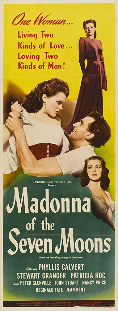 Stewart Granger, Phyllis Calvert, and Patricia Roc in Madonna of the Seven Moons (1945)