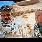 John Ward and Maria Nilsson in Lost Treasures of Egypt (2019)