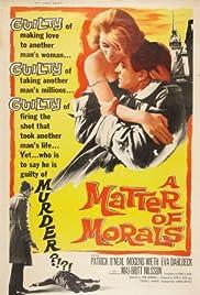 A Matter of Morals Poster