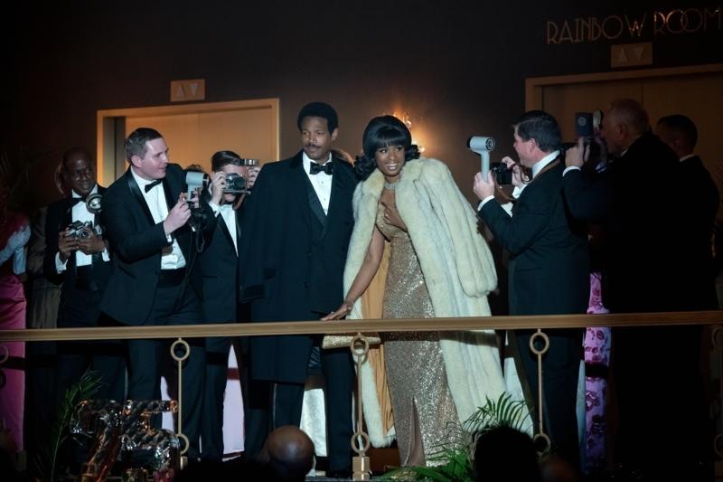 Marlon Wayans and Jennifer Hudson in Respect (2020)