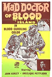 Mad Doctor of Blood Island Poster